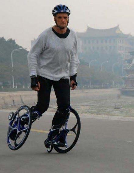 Chariot Skates são patins inspirados na bicicleta. Quatro rodas, duas em cada pé, formam este equipamento que chega a até 40km/h. Veja a...