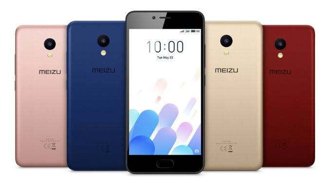 Meizu M5c is a colorful mid-ranger with 5-inch screen and 2 GB of RAM