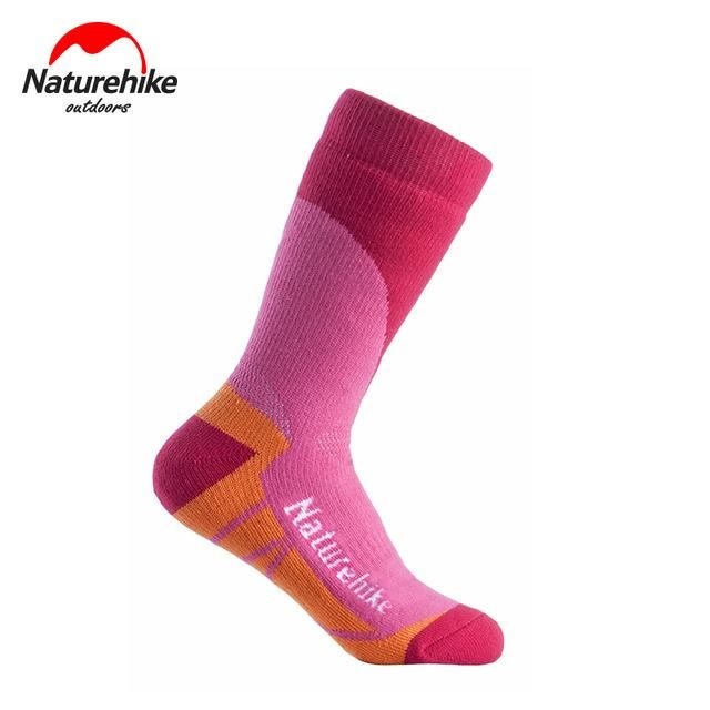 NatureHike Men's Socks Outdoor Sock Quick-Drying Men Women Sport Socks Winter Thermal Socks Snow Peak Hiking Cycling
