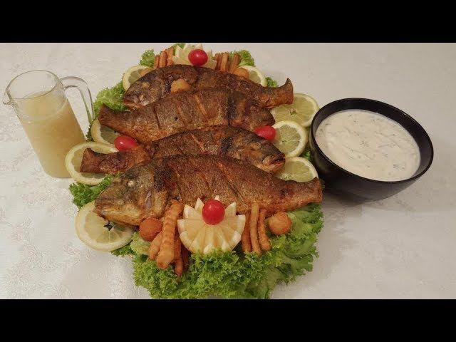 السمك المقلي مع طريقة تنظيفه وكشف سر القرمشة اللذيذة Seafood Recipes Mediterranean Recipes Recipes