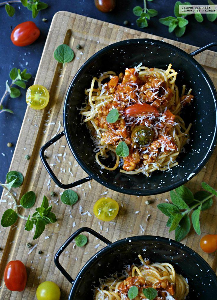 Te explicamos paso a paso, de manera sencilla, cómo hacer salsa boloñesa para vegetarianos. Tiempo de elaboración, ingredientes,