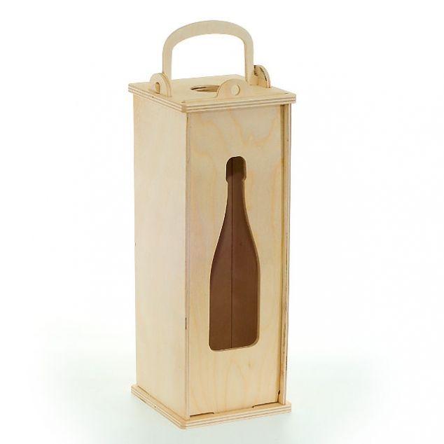 250900 Бокс для шампанского «Классика», 12х12=33,5 см