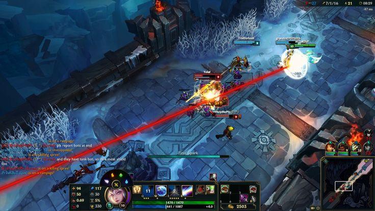 League of Legends - Aram 5v5   Lux Gameplay