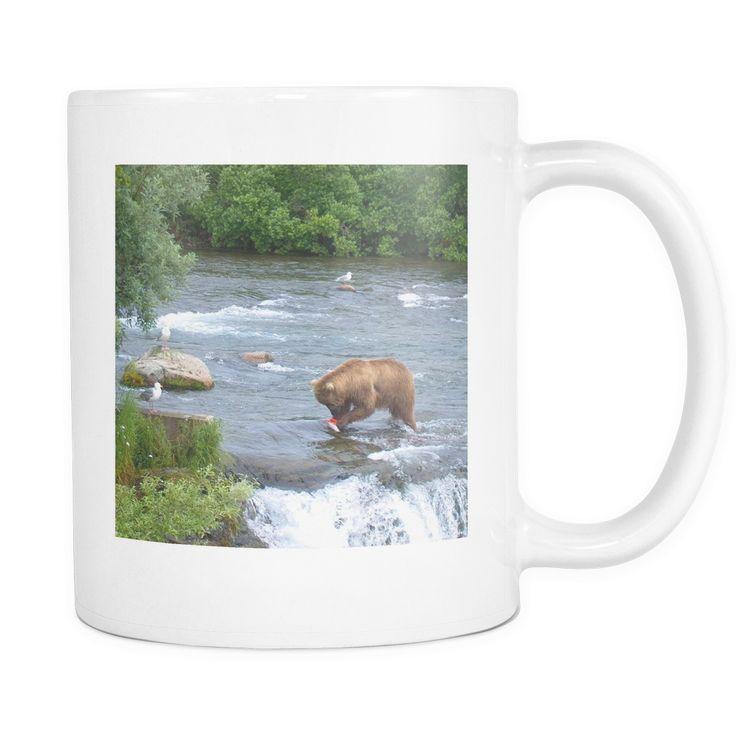 Alaskan Brown Bear Mug