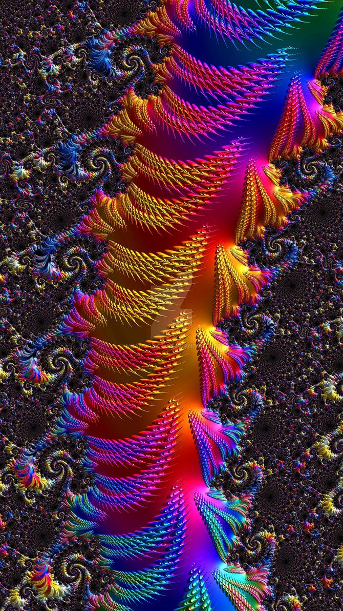 Fractal abstract art by mranganath