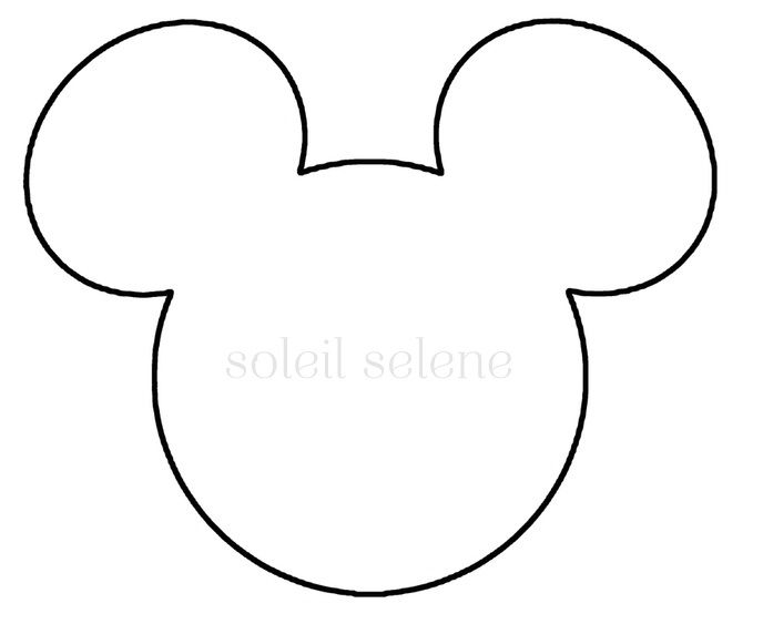 mickey mouse face template for cake - mickey birthday ideas pinterest