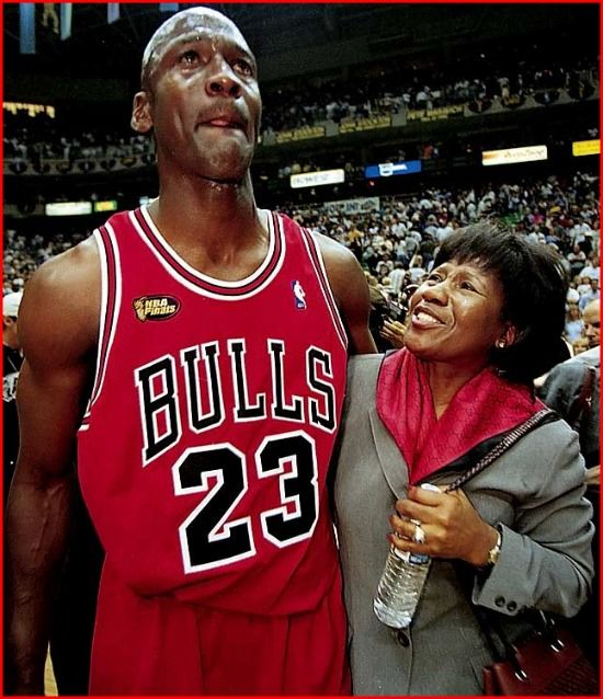 In Flex We Trust » (Pics) SI.com's Athletes & Their Moms including MJ, Mike Tyson, Charles Barkley & More