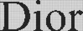 marque - make - dior - j'adore - point de croix - cross stitch - Blog : http://broderiemimie44.canalblog.com/