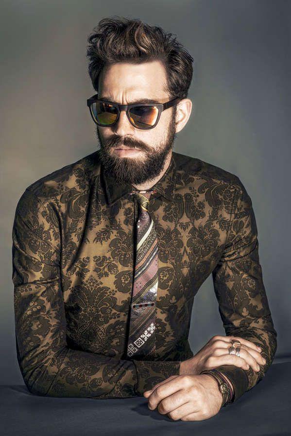 Pattern Mix- The Ilias Petrakis WWD Editorial Embraces Eclectic Menswear (GALLERY)
