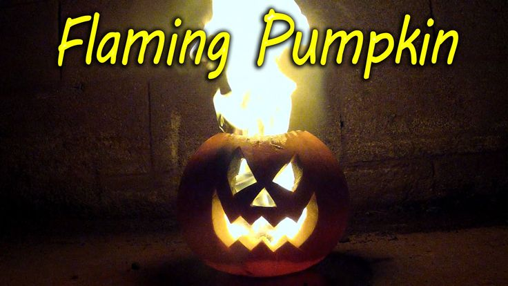 How to Make a Flaming Pumpkin, Jack O Lantern. Great for a Halloween party idea. As featured on Right This Minute TV across America. This great step by step ...