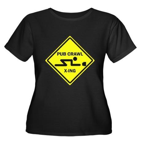 Pub Crawl X-ing. Every good Pub Crawl needs a crossing guard.