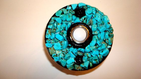 Doorbell Cover.Az Turquoise by dccreations1 on Etsy