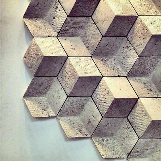 Béton - IMAGE La matière de mon rendu m'évoque du béton par sa lisseur. J'ai donc décidé de prendre cet assemblage de cube en béton. Il correspond aussi à mon format part son ensemble de formes cubiques.