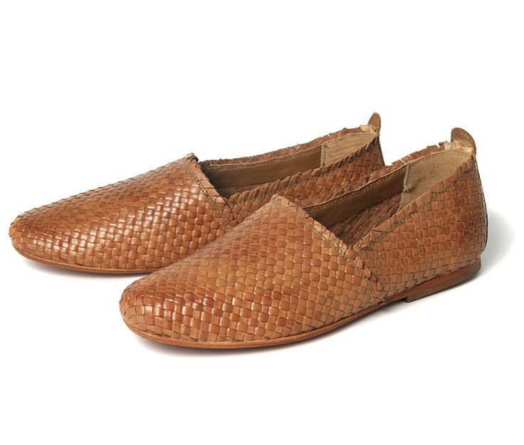 Cozumel Tan (£75.00) - Cozumel returns this Summer! Our leather woven slip on is a great lightweight footwear choice for the warmer months. ...