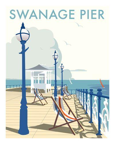 Thompson Travel Uk: David Thompson - Swanage Pier