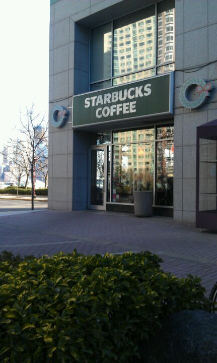 closest Starbucks to the hotel!