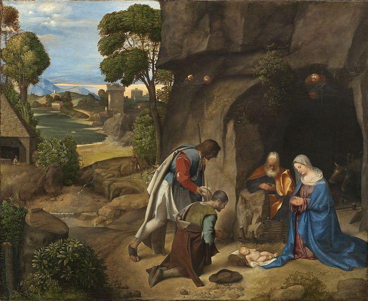 Giorgione (Italian, The Adoration of the Shepherds, 1505/1510,