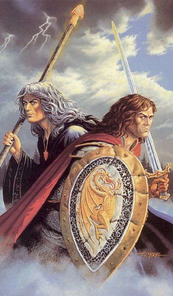 The Sojourners of Krynn, The Twins