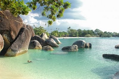 Belitung Island, clean and less homo sapiens turistas population