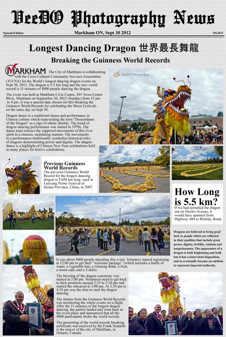 081 newspaper_dragondancing #365project http://www.veedophotography.com/longest-dragon-dancing/