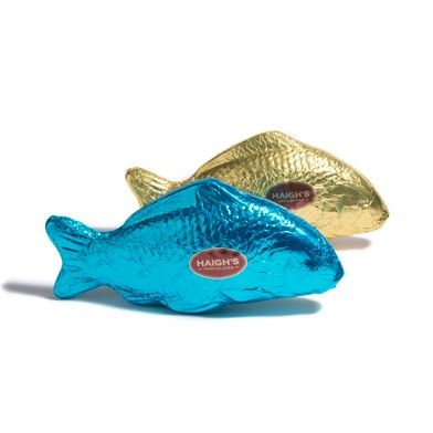 Large Milk Chocolate Fish - Purchase online, instore and mobile. www.haighschocolates.com #Easter #Chocolate #Gifts #BuyOnline