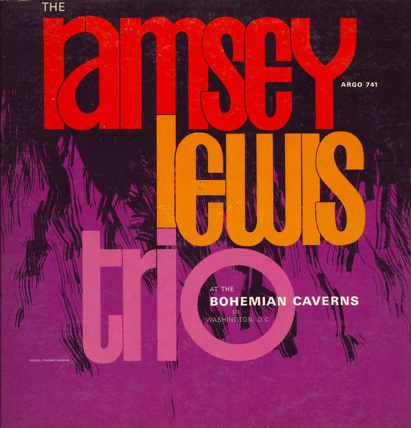 The Ramsey Lewis Trio At The Bohemian Caverns Vinyl Lp Album At Discogs Ramsey Lewis Music Album Covers
