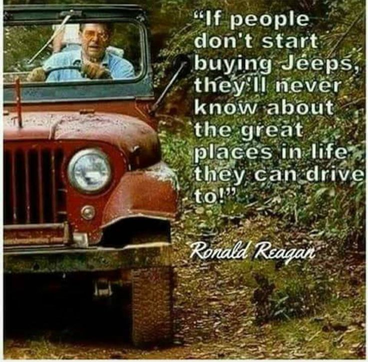 The Jeep We Purchased: And That's From A US President