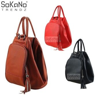 Buy SoKaNo Trendz 4 Way Premium PU Leather Bag Brown online at Lazada Malaysia. Discount prices and promotional sale on all Top-Handle Bags. Free Shipping.