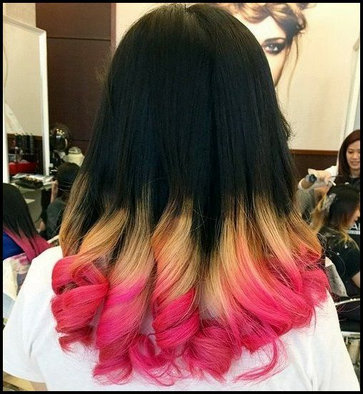 20 stilvolle rosa Ombre Frisuren   – Neue Frisuren