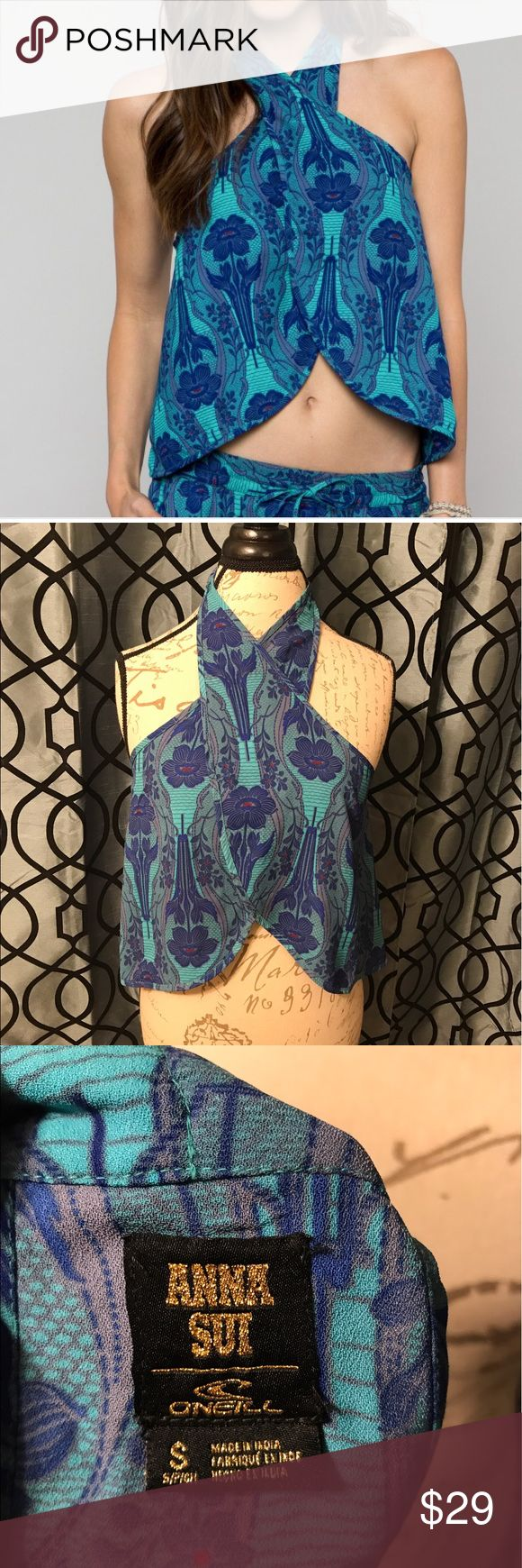 Anna Sui For O'Neill Gemini Beach Top Sz Small Amazing top, no flaws. Excellent condition Anna Sui for O'neill Tops Tank Tops