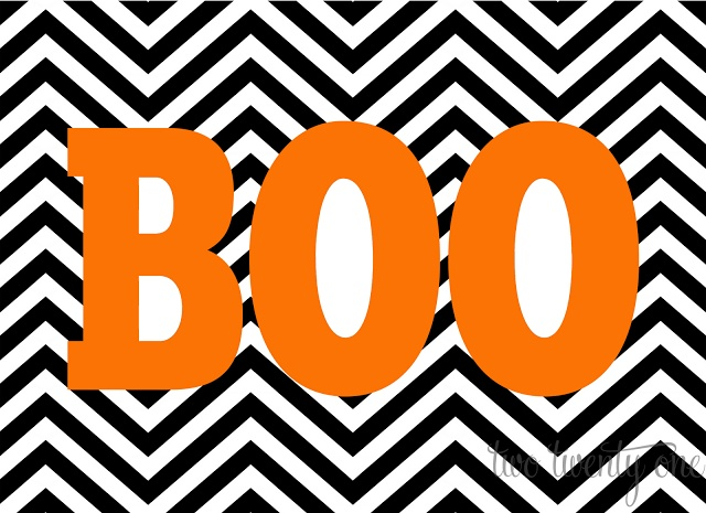 FREE Halloween printables! Different designs to choose from.