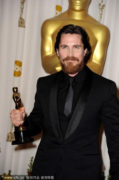 """Christian Bale 2.011 (""""The Fighter"""")"""