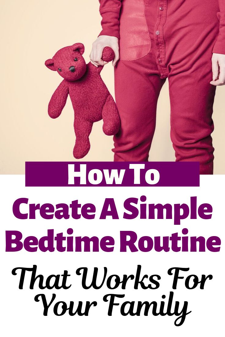 How To Create A Bedtime Routine That Works – Therapy