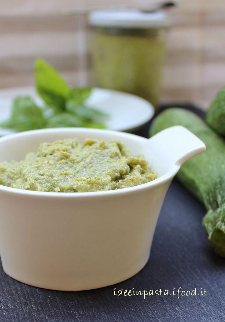 Pesto di Zucchine e Pistacchi | Idee in pasta & in pentola