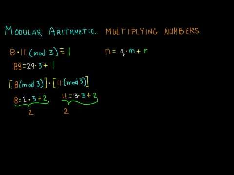 How to Multiply  in Modular Arithmetic - Cryptography - Lesson 5