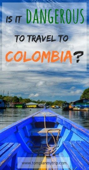 Safety in Colombia - Yes it was dangerous to travel to Colombia 20 years ago. But the situation of Colombia has changed a lot the last years and it's now becoming a new Eldorado for the travelers. Read this article to learn about the bloody past of Colombia and to understand why you can now travel safely to Colombia. #IsColombiasafe #Colombia #safety