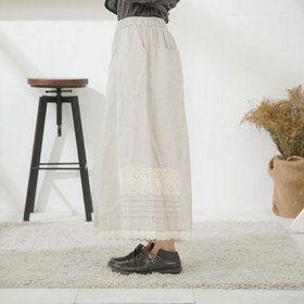 丁寧で繊細な品質。限定生産でもお値段控えめ。完全オリジナル。7分袖 刺繍レース コットン ブラウス 【4717】 【 10P06Aug16 】 Mycloset マイクローゼット 森ガール 大きいサイズ 大人カジュアル ナチュラル ゆったり シンプル 授乳服 30代 40代 50代 ファッション レディース 服
