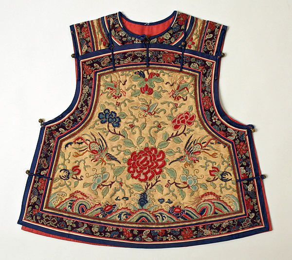 Vest   Chinese   The Met   Late 19th century