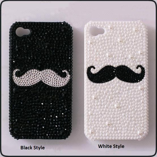 New Mustache Style DIY Phone Case Deco Den Kit & Free by chen370, $5.99