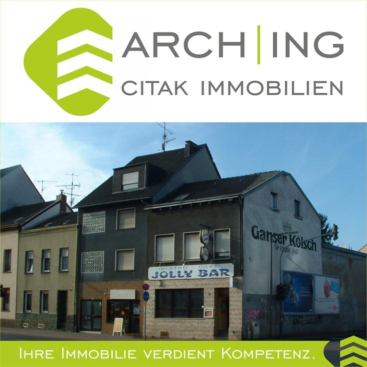 Wohn- und Geschäftshaus mit 3 Wohnungen und einer Gewerbeeinheit in Köln-Kalk.