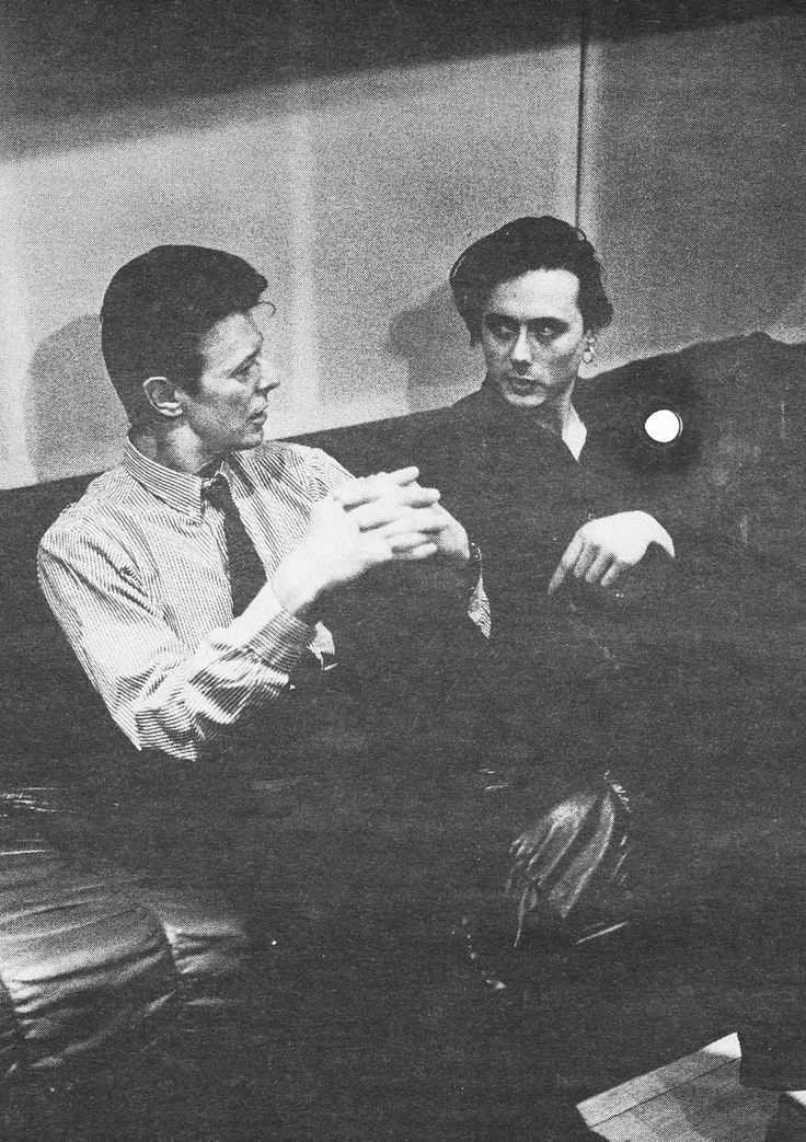 Bowie and Brett Anderson ah