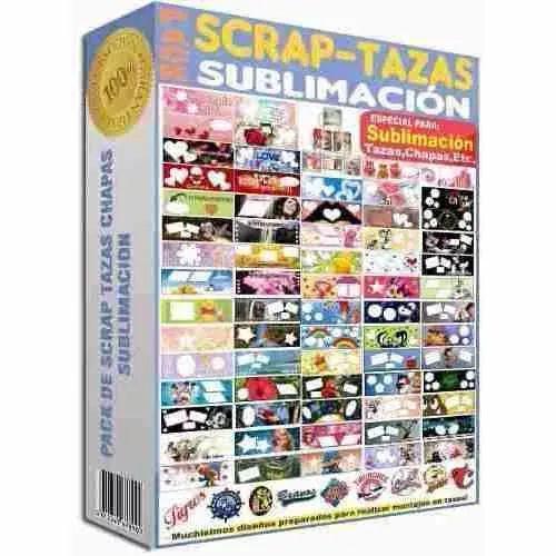 Mega Pack Para Sublimacion De Tazas Completo Vectores - $ 99.00