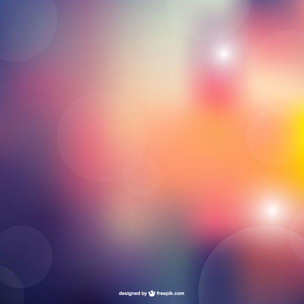 Bokeh abstract vector