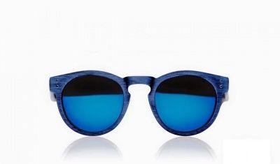 Excape by Living Occhiali da sole linea Me Too Modello 0.9 Spazzolato blu