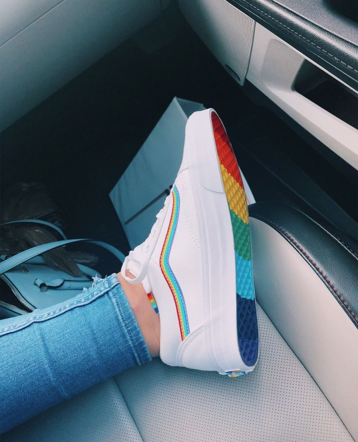 vans arcoiris