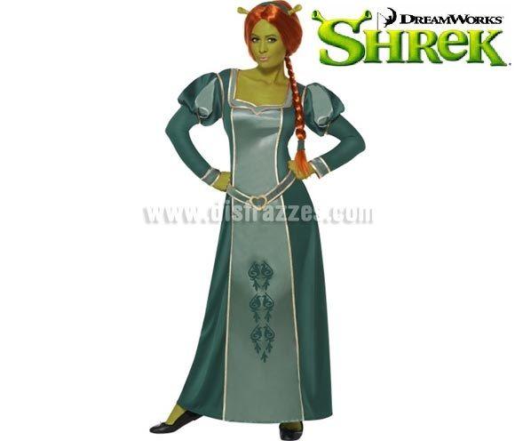 Disfraz de Princesa Fiona de Shrek para mujer talla M. Incluye vestido