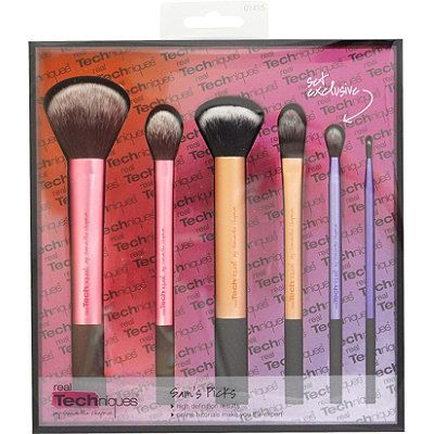 Real Techniques Brush Set 'Sam's Choice' - I picked this up last Holiday Season at Ulta and was thrilled that a new brush was introduced in the set. It is the Crease brush. I am happiest about having the other brushes as backups to the single purchases I made last Summer of the same. I love having backups.