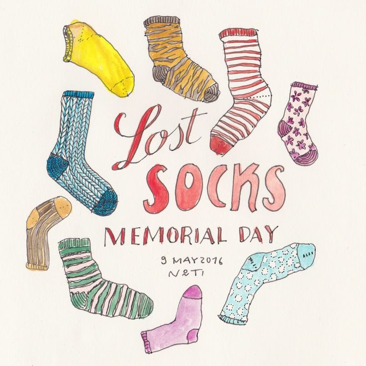 (Diary-Picture 350/365) 09 MAY – Useless but funny: lets celebrate the LOST SOCKS Memorial Day today!