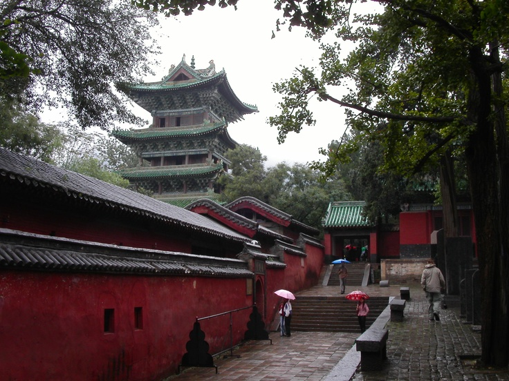 Shaolin Monastery in Dengfeng, China. Martial arts are really cool in my opinion, especially Shaolin Kung Fu. I have been to China 3 times, but only to Shanghai and Beijing, so I want to got to the Shaolin monastery in Henan province in China.