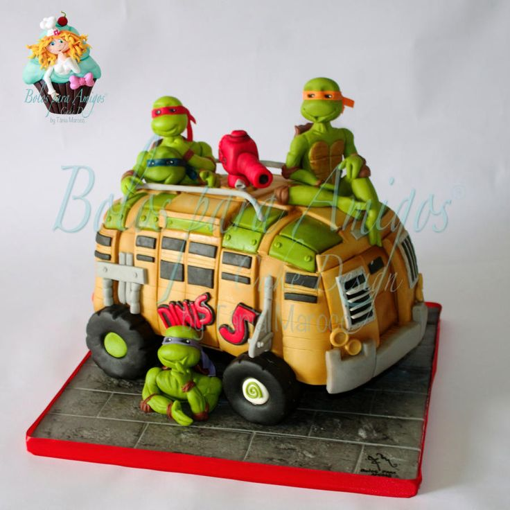 shoes Cake by for   Ninja T  nia Maroco mag Turtles ebay sale